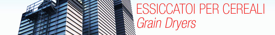 essiccatoi per cereali - grain dryers